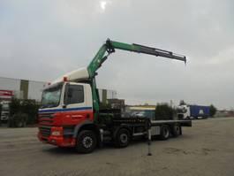 platform truck DAF FAC85 8X2 2005