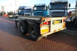 container chassis semi trailer Pacton Container Chassis / 20FT / Steel Suspension BPW + DRUM 1989