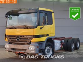 chassis cab truck Mercedes-Benz Actros 2655 K 6X4 Retarder 3-padels Big-Axle Steelsuspension Euro 5 2007
