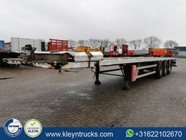 Plattform Auflieger GT Trailers TWISTLOCKS 2x20