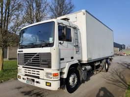 closed box truck Volvo F12 360 4x2 Full steel - Lâmes 1990