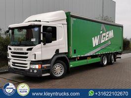 sliding curtain truck Scania P320 6x2*4 2015