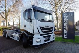 container truck Iveco AS260SY 480 Hp 6x2*4 Hooklift Euro 6c 2019