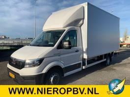 closed box truck MAN TGE 5.180 bakwagen laadklep zijdeur airco nieuw 2020