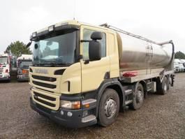 tank truck Scania P400 8X2*6 EURO 5 Nerz // MINK FEED 2013