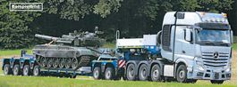semi lowloader semi trailer Goldhofer 2+4-Achs-Tiefbett-Kombination Typ VP6 (245) A (2+4) BB 2021