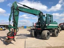 wheeled excavator Caterpillar M313D+Indextor Rototilt Good Condition! 2012