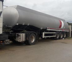 tank semi trailer semi trailer LAG DIESEL TANKOPLEGER 38.000 L 3 ASS LUCHT 1996