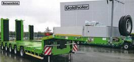 semi lowloader semi trailer Goldhofer 5-Achs-Tele-Semi mit hydr. Rampen MPA 2021