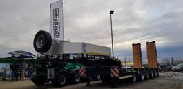 semi lowloader semi trailer Goldhofer 5-Achs-Tele-Semi mit hydr. Rampen 2020