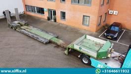 lowloader semi trailer Doll 2-ass. Uitschuifbare dieplader met aluminium opritten // Panther assen 2011