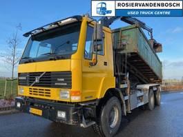 tipper truck > 7.5 t Terberg FL 1350 WDG 6X6 KIPPER MET KRAAN 1998