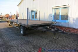 flatbed full trailer Müller-Mitteltal TP Steckrungen SAF Achsen 10m lang NL: 6.550 kg 2001