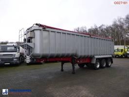 Kipper Auflieger Montracon Tipper trailer alu 50.4 m3 + tarpaulin 2009