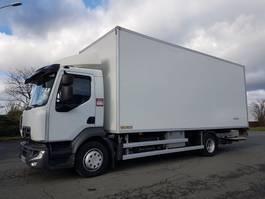 closed box truck Renault D12.210dti euro 6 - FLOWERS HEATING BOX 2014