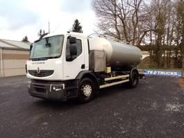tank truck Renault citerne ETA alimentaire en inox 2 compartiments 2009