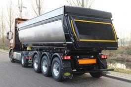 tipper semi trailer Meiller MHPS 44/3N  24m3 geisoleerde kippertrailer compleet met Stralis X-Way 510Pk met hydraulisch aangedreven vooras NIEUW! 2020