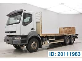 platform truck Renault Kerax 370 DCi - 6x4 2006