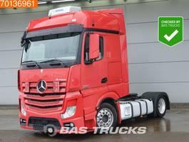 mega-volume tractorhead Mercedes-Benz Actros 1845 4X2 Mega Standklima Alcoa's BigSpace EEV 2013