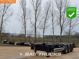 Container-Fahrgestell Auflieger CIMC SC03 20-30-40 Ft. 3 axles Extendable Multifunctional Chassis Liftachse 2013