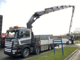 crane truck Scania R500 8X2 MANUAL + HMF THOR-O-K6 + JIB FJ1200 K5 MET REMOTE 2006