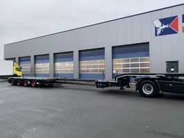 semi lowloader semi trailer Nooteboom OSD-58-04V Extendable, Rongen, 18.95 Mtr. Full Zinc Metallised !!! 2012