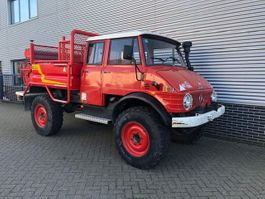 fire truck Unimog U416 Doka Brandweer OM352 Snelle Assen 125PK