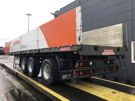 drop side semi trailer Langendorf Kraanoplegger, stuuras, HU gultig 03/2021 2004