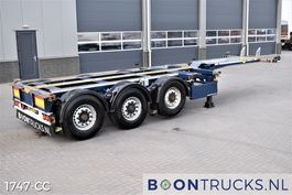 Container-Fahrgestell Auflieger Broshuis 3UCC-39/45 | 2x20-30-40-45ft * DISC BRAKES * MULTI CHASSIS 2015