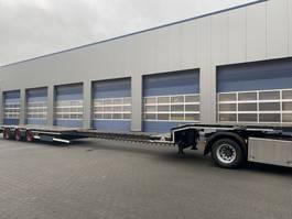 semi lowloader semi trailer Nooteboom OSD-48-03V, 3-Axle, Extendable, Full Zinc Metallised, Like NEW, TUV 12-2021 2012
