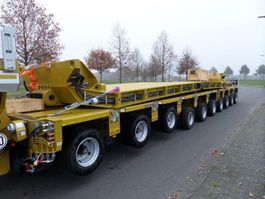 semi lowloader semi trailer Goldhofer 300 Tons Dropdeck 2020