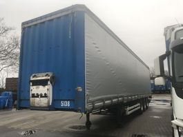 sliding curtain semi trailer Krone SDP 27 schuifzeil-dak met onderschuifklep bpw trommel 2001