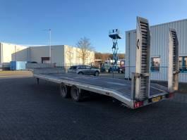 lowloader semi trailer Veldhuizen Semi dieplader, BE oplegger, 15 ton 2012