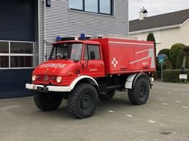 fire truck Unimog U416 Brandweer snelle assen 125 PK Topstaat! 1984