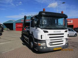 container truck Scania P 280 EURO 5 HYVA 12 TONS PORTAALSYSTEEM 2008
