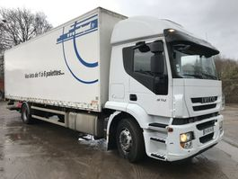 closed box truck Iveco STRALIS 310 **BOX 8.85-AC-FRENCH TRUCK** 2009