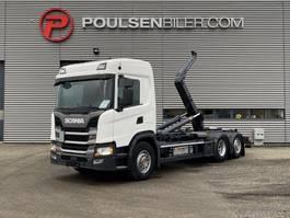 container truck Scania G410 6x2*4 Meiller Hooklift 2018