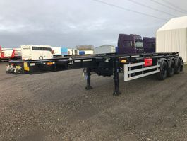 container chassis semi trailer HRD 3-axle ADR 20