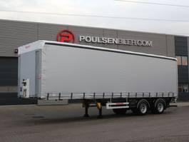 Schiebeplanenauflieger Hangler 2-axle 27-pll city trailer