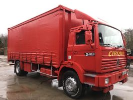 sliding curtain truck Renault G230 **6CYL-POMPE MECANIQUE** 1993