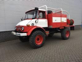 fire truck Unimog U416 Brandweer snelle assen 125PK OM352 1976