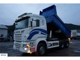 tipper truck > 7.5 t Scania R560 6x4 Tipper truck Steel suspension WATCH VIDEO 2012