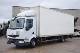 closed box truck Renault MIDLUM 220 DXI  EURO 5 2009