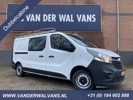 closed lcv Opel Vivaro 1.6 CDTI 120pk L2H1 Dubbele cabine Airco, imperiaal, cruise, trek... 2015