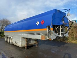 tank semi trailer semi trailer EKW CITERNE - 5 COMPARTIMENTEN - 38.000 L - 3 ASSEN - STUURAS 1999