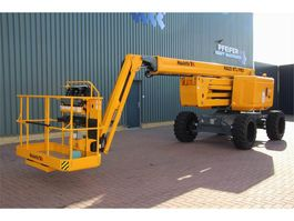 articulated boom lift wheeled Haulotte HA20RTJPRO Valid inspection, *Guarantee! 20.6 m Wo 2018