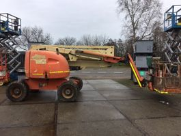 articulated boom lift wheeled JLG 450AJ 2010