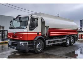 tank truck Renault Premium 380 DXi + MAGYAR 21.000L ( 7COMP. + SOURCE+DOME) + ess dir. 2012