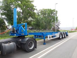 container chassis semi trailer LAG O-3-CC 90 40 ft tipping full options 2009