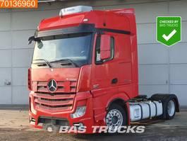 mega-volume tractorhead Mercedes-Benz Actros 1845 LS 4X2 Mega Standklima 2x Tanks EEV 2013